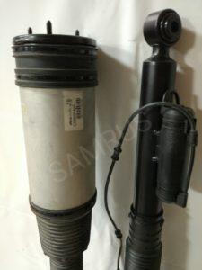 Восстановленная пневмостойка на Мерседес W220